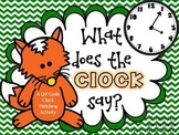 What Does the Clock Say: A QR Code Clock Match Up