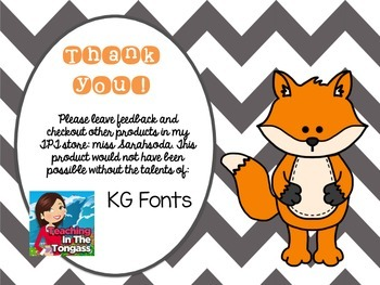 What Does the Fox Say? A Writing Freebie