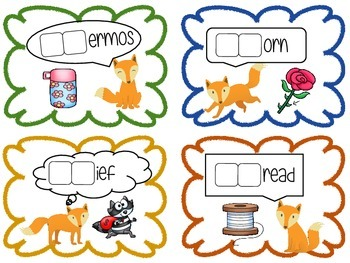 What Does the Fox Say- Ultimate Phonics- CVC, CVCe, Digraphs and Blends