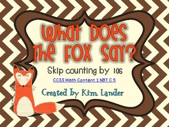 What Does the Fox Say? Common Core Aligned