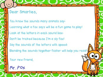 What Does the Fox Say? Phoneme Building