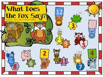 What Does the Fox Say? Roll and Cover & Wrap Around (I Have...Who Has...?)
