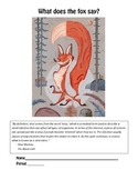 What Does the Fox Say? - Using text-based evidence from mu
