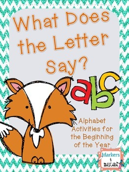 What Does the Letter Say?  A-Z