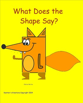 """What Does the Shape Say?"" Geometric Shapes Geometry"