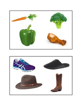 What Doesn't Belong -- Language Activity