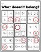 What Doesn't Belong? {Math & ELA}