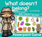 What Doesn't Belong?   Powerpoint Presentation