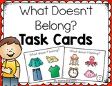 What Doesn't Belong Task Cards