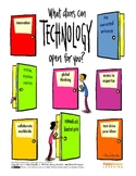 What Doors Can Technology Open for You? Poster by Peter H. Reynolds