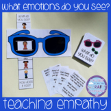 What Emotions Do You See? (Teaching Empathy/Sunglasses Sliders)