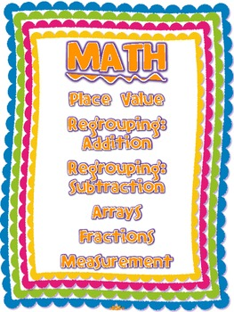 What Every Second Grader Should Know (Common Core: Math, ELA + S.S. activities)