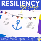 Resiliency Building Counseling Group What Floats Your Boat? Resiliency Group
