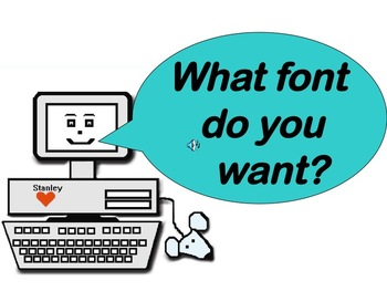 What Font Do You Want?