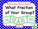 What Fraction of Your Group?
