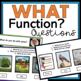 What Function Questions (Intraverbals) (REAL pictures)