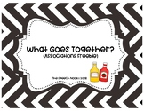 What Goes Together? Associations Freebie