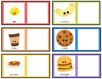 What Goes Together? Cute Food Pairs
