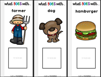 What Goes Together? an interactive word association flipbook
