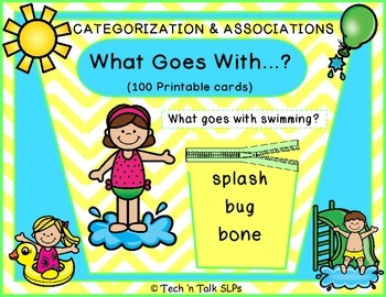 What Goes With.....?  Categorization & Associations/Compar