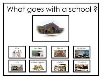 What Goes With a School ?