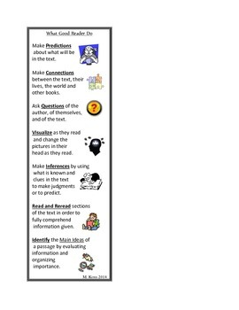 What Good Readers Do Bookmark