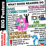 What Good Readers Do   Reading Strategies Posters English
