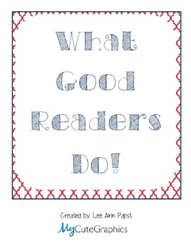 What Good Readers Do Sign