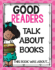 What Good Readers Do Posters (Bright Polka Dots)