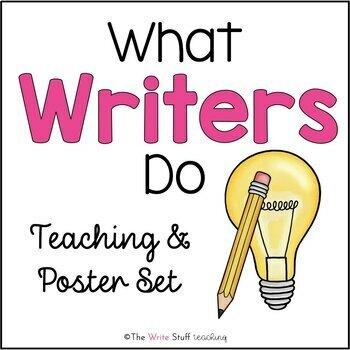 Good Writers Poster Set {FREE}