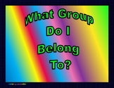 What Group Do I Belong To? Sort By Valence Electrons 8.5b and c