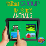 What Group Is It In? Animals | BOOM Cards