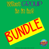 What Group Is It In?  COLLECTION for BOOM Cards