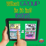 What Group Is It In?  Rooms | BOOM Cards