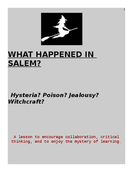 What Happened in Salem?