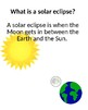 What Happened to the Sun? A Solar Eclipse book