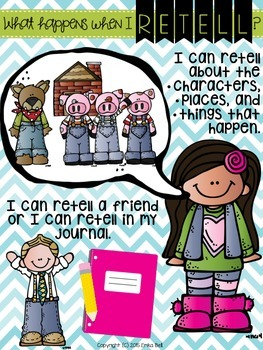 What Happens When I Retell? FREEBIE Poster