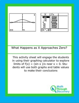 Calculus:  What Happens as X Approaches Zero?