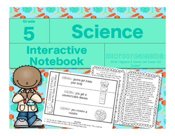 Microorganisms Interactive Notebook-What Happens if Germs Get Inside Our Bodies?