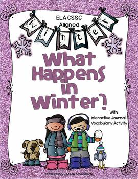 Winter Reading and Writing Unit: K-2