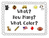What How Many What Color