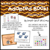 What, How Many, What Color? Animals! Adapted Book *Digital