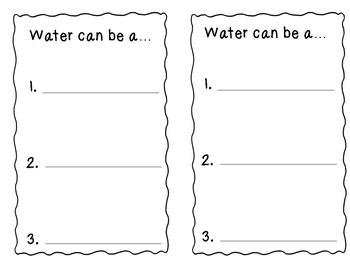 What I Know About Water Fact Book