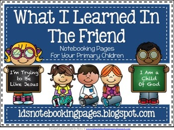 What I Learned in the Friend Notebooking Pages