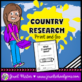 Country Research Report Project