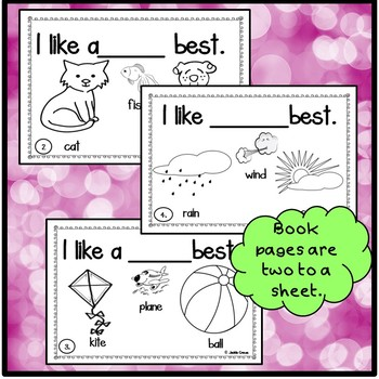 What I Like Best Interactive Beginning Reader