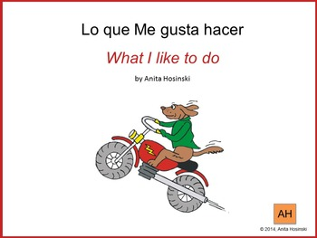 bilingual spanish book Gustar review