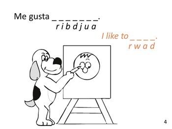bilingual spanish coloring book Gustar review