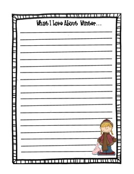 what i love about winter stationary by room six rocks tpt