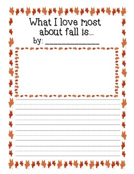 What I Love Most About Fall